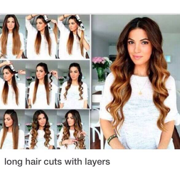 Long Hairs with Curls