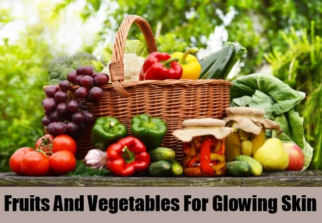 Fruits And Vegetables For Glowing Skin