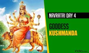 Navratri forth day