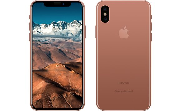 iPhone8 in CopperGold