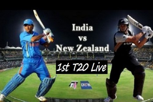 India vs New Zealand 1st T20 Live Cricket Score Today