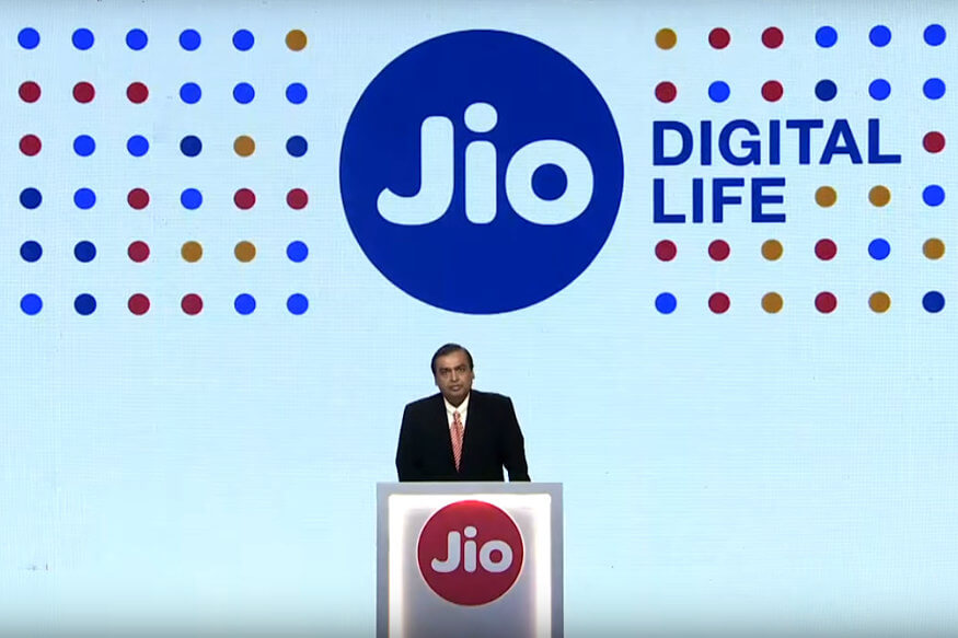 Reliance Jio Live announcement