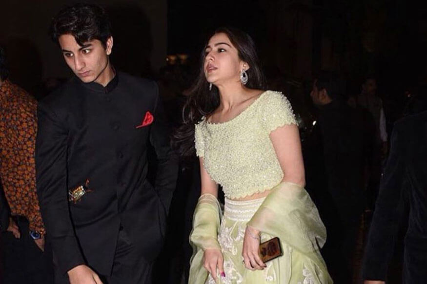 Sara Ali Khan and Ibrahim (1)
