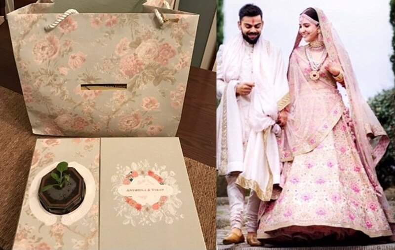 Virat Kohli-Anushka Sharma's Reception Card (1)