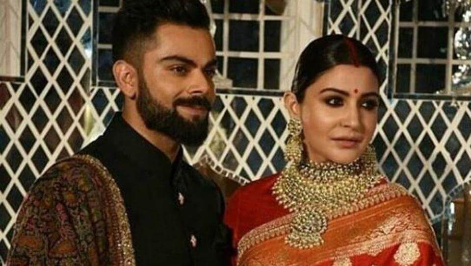 Virat Kohli and Anushka Sharma look perfect together