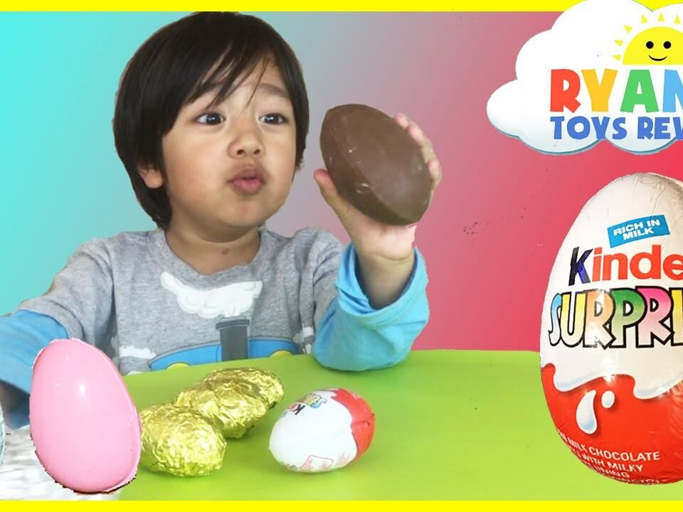 YouTube channel Ryan ToysReview (1)