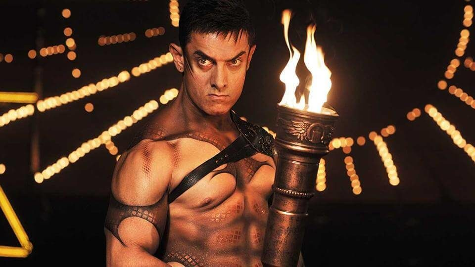 Aamir Khan in a still from the film Dhoom 3 (1)
