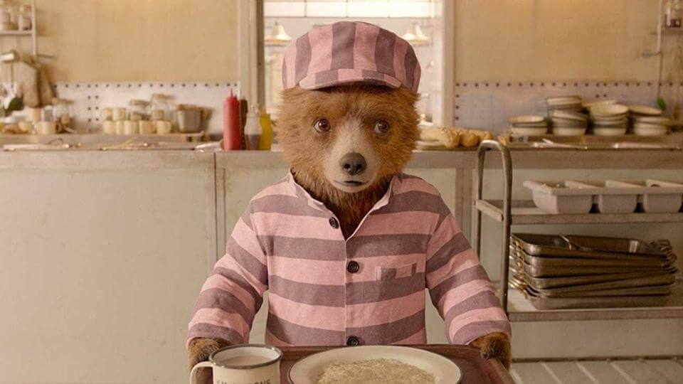 Ben Whishaw voices Paddington the Bear. (1)