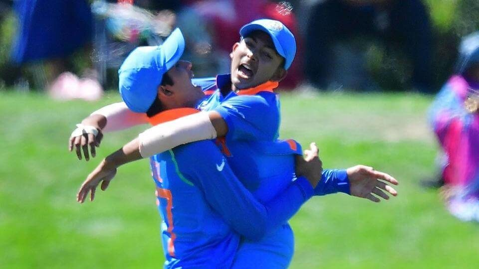 Ishan Porel's four wickets and Shubman Gill's unbeaten 102 helped India beat Pakistan by 203 runs in the second semifinal of the ICC Under-19 Cricket World Cup 2018 (1)