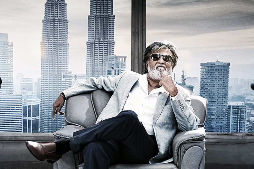 movie Kabali featuring superstar Rajinikanth
