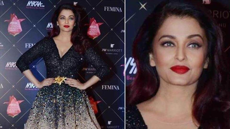 Aishwarya Rai Bachchan won the Global Icon of The Year award on Thursday (1)