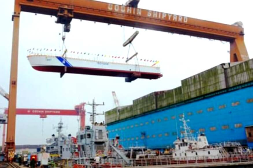 Five people were killed and 11 were injured after a blast at the Cochin Shipyard in Kochi (1)