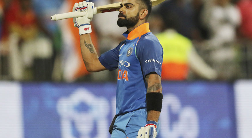 Indian captain scored a staggering 558 runs in the series