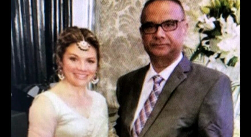 Jaspal Atwal was seen with Trudeau's wife Sophie and Liberal cabinet minister Amarjeet Sohi in Mumbai on Tuesday (1)