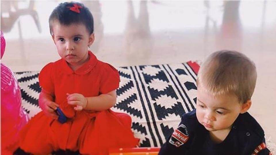 Karan Johar's twins Yash and Roohi turned one on February 7 (1)