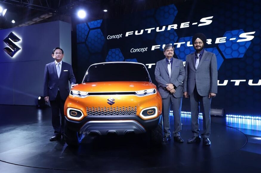 Maruti Suzuki 'ConceptFutureS' unveiled at Auto Expo 2018 (1)