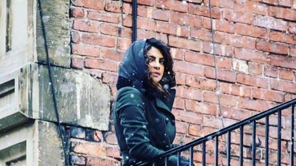 Priyanka Chopra shooting for Quantico in New York (1)