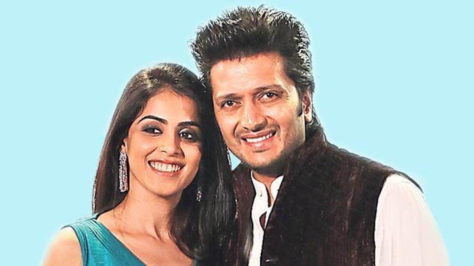 Riteish Deshmukh and Genelia D'Souza married in 2012 (1)