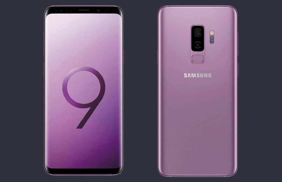 Samsung Galaxy S9 in Lilac Purple (1)