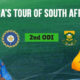 South Africa vs India 2018 2nd ODI (1)