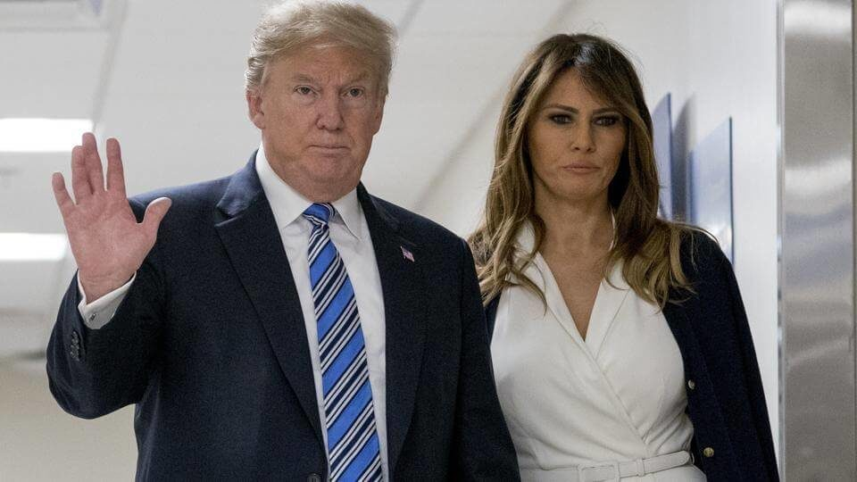 The alleged affair occurred not long after Donald Trump married his third wife Melania who had recently given birth to a son
