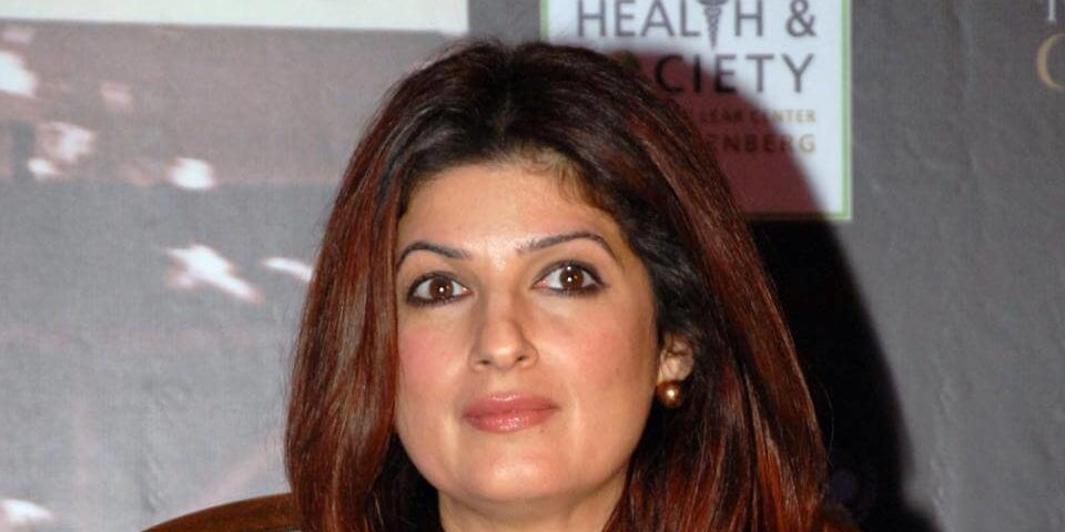 Twinkle Khanna during the promotion of PadMan in Mumbai (1)