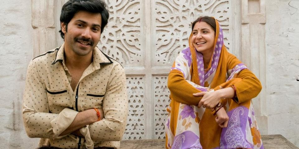 Varun Dhawan and Anushka Sharma in the first look picture from their upcoming film Sui Dhaaga
