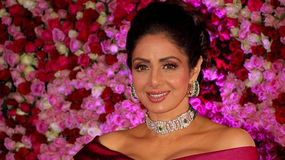 Veteran Bollywood actress Sridevi Kapoor (1)