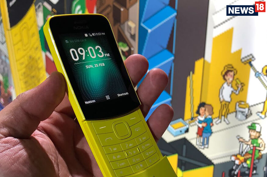 Nokia 8110 (4G) has been launched by HMD Global at the MWC 2018 (1)