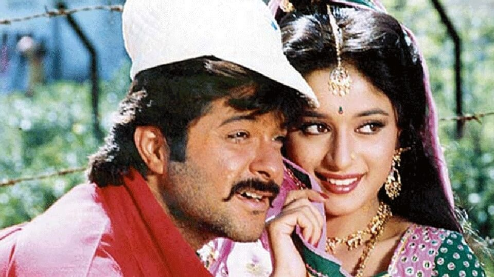 Anil and Madhuri in Ram Lakhan