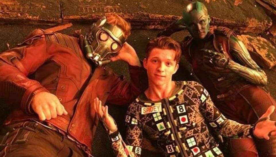Avengers Infinity War will see SpiderMan joining forces with Guardians of the Galaxy (1)