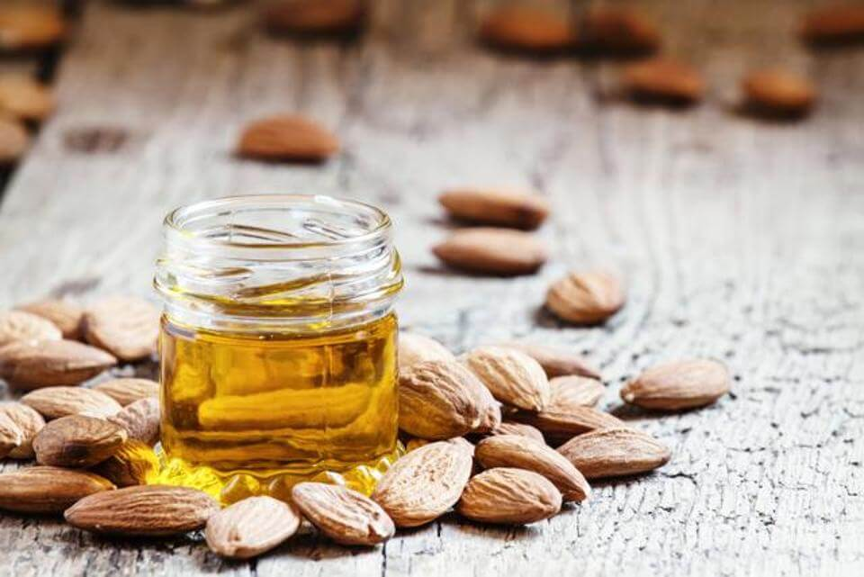 Go for skincare products with almond oil in them