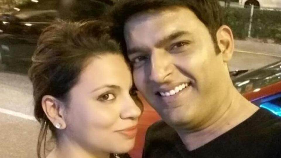 Kapil Sharma and Preeti Simoes (1)