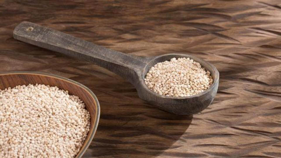Quinoa is rich in protein and is a healthy alternative to rice