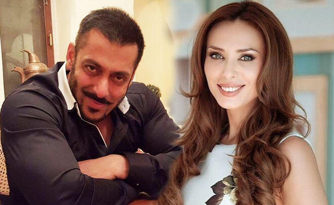 Salman Khan and Romanian TV presenter Iulia Vantur