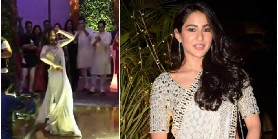 Sara Ali Khan's performance was a big hit with the guests