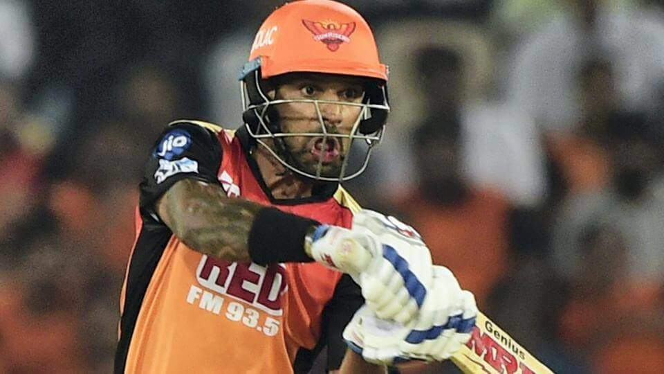 Shikhar Dhawan is known for his pranks and his latest target was Sunrisers Hyderabad spinner Rashid Khan (1)