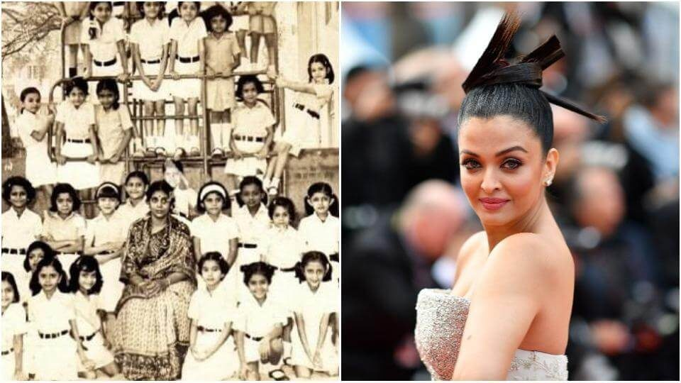 Aishwarya Rai was not easy to miss even when she was a child