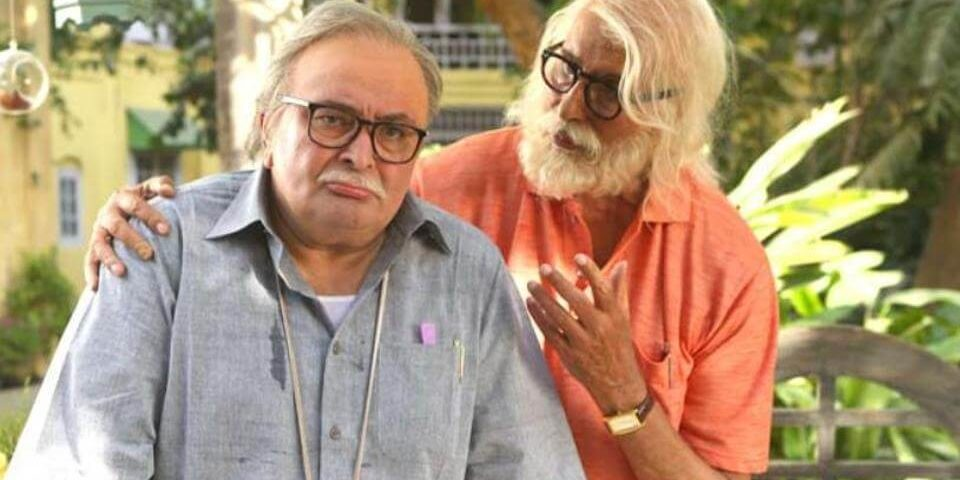 Amitabh Bachchan and Rishi Kapoor have reunited after a gap of 27 years in 102 Not Out