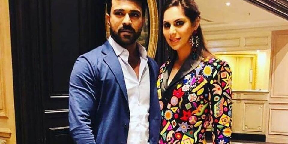 Ram Charan and his wife Upasana in Paris for Shriya Bhupal's wedding