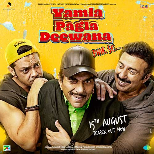 Yamla Pagla Deewana Phir Se is slated to release on 15 August.