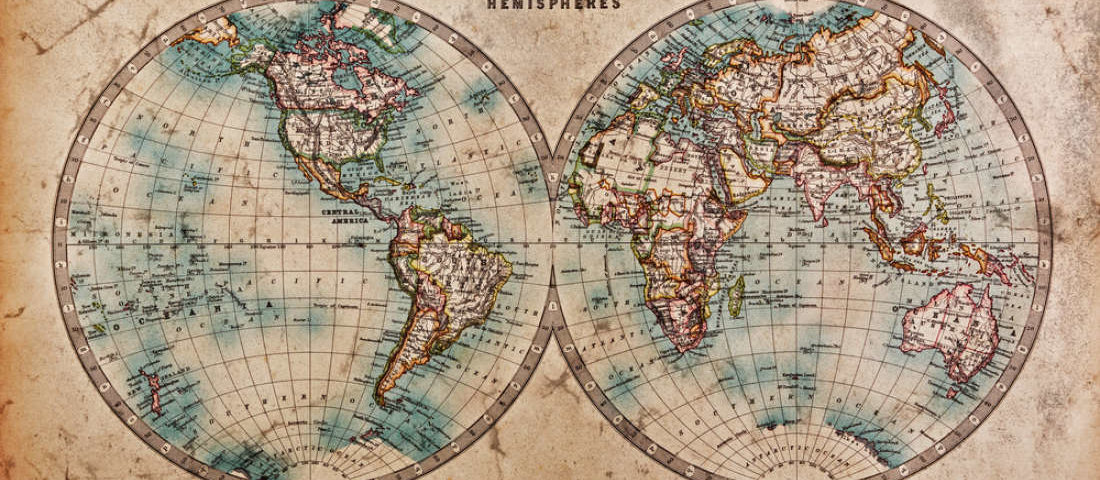 This New world map is a more accurate Earth and shows Africa\'s full size