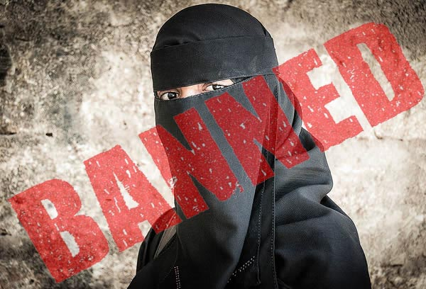 covering face ban